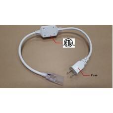 110V light strip 2pins power plug