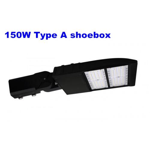 New 150w Led Shoebox Parking Lot Light Fixture