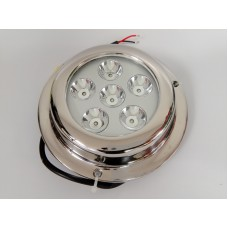 "4.5"" 18W Round LED underwater light (pair) - Green"