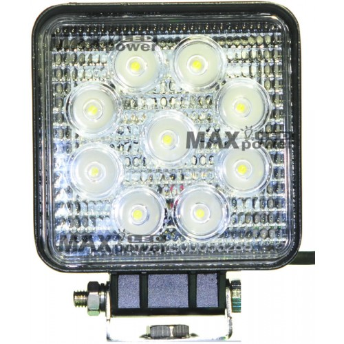 27w Led Work Light : Quot w led work light