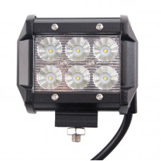 "4"" 18W CREE LED Light Bar (Flood Beam)"
