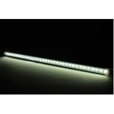 50cm Cool White Aluminium LED Strip Bar - waterproof