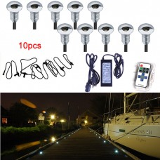 NEW! 10pcs LED deck or stair light kit - warm white