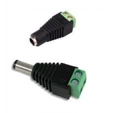 DC Power 12V 24V Jack Adapter Connector (1 pair)