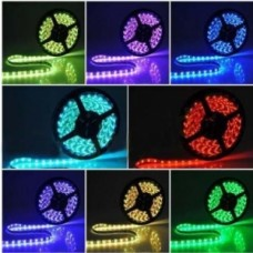5m 5050 RGB LED Strip - waterproof